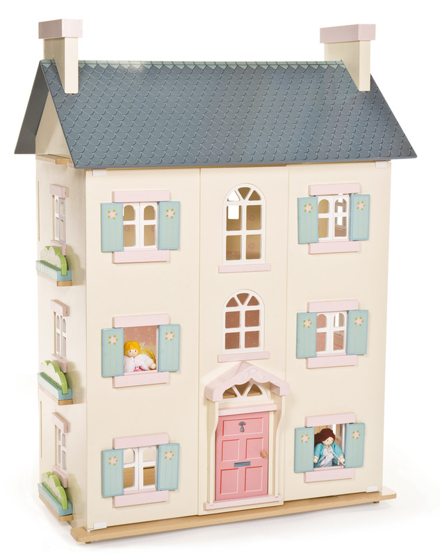 Finlee and Me – Wooden Dolls Houses – Le Toy Van Kids Dollhouse {Cherry Tree Hall}