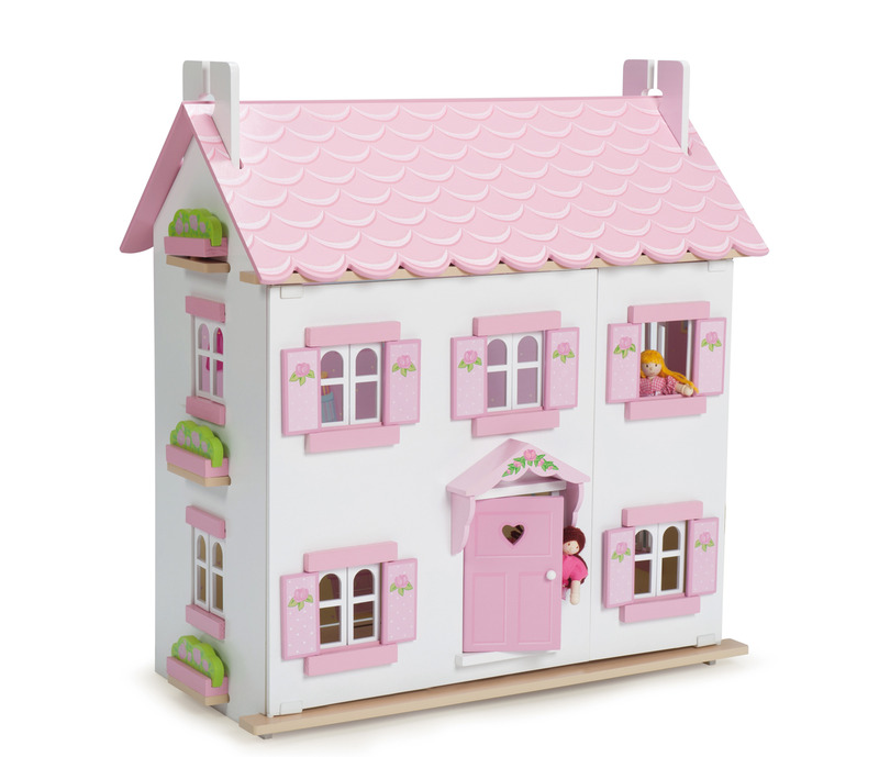 Finlee and Me – Wooden Dolls Houses – Le Toy Van Kids Dollhouse {Sophie's House}