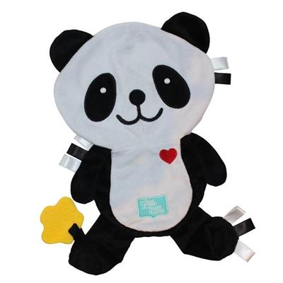 Finlee and Me- Baby Comforters- Panda Sensory Blanket Snugglie