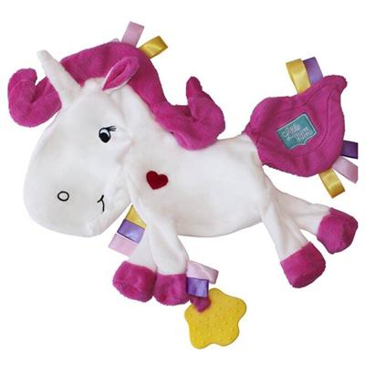 Finlee and Me- Baby Comforters- Unicorn Sensory Blanket Snugglie