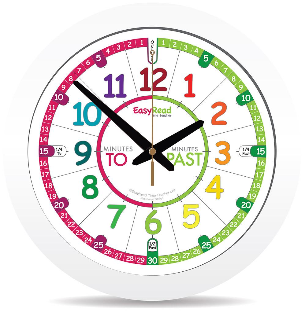 Easyread Time Teacher Kids Clock