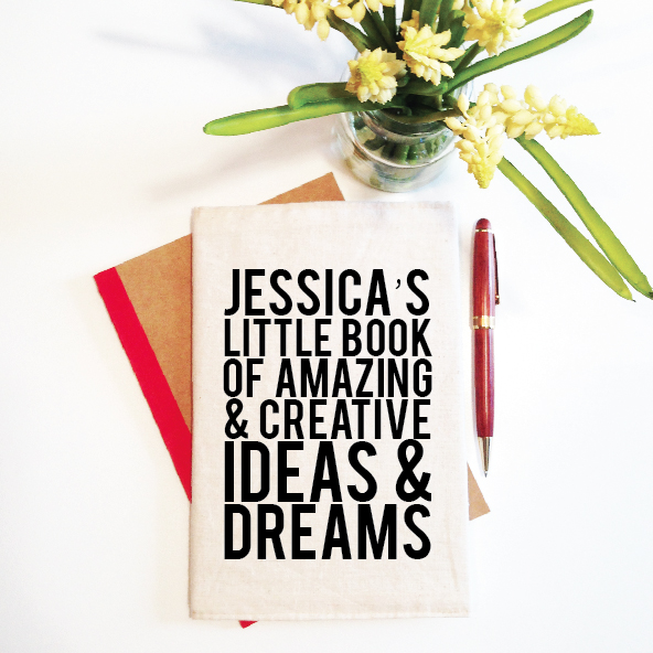 personalised-notebook-and-reusable-cover-little-book-of-ideas-and-dreams