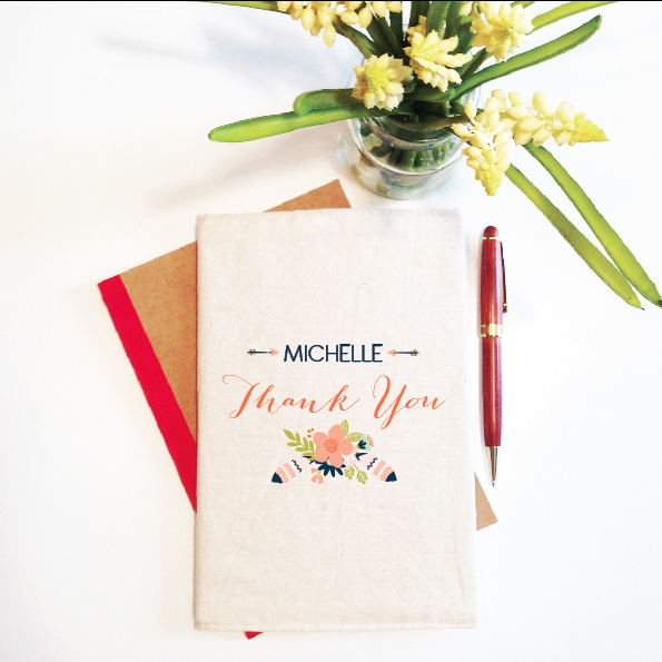 personalised-notebook-and-reuable-cover-thank-you