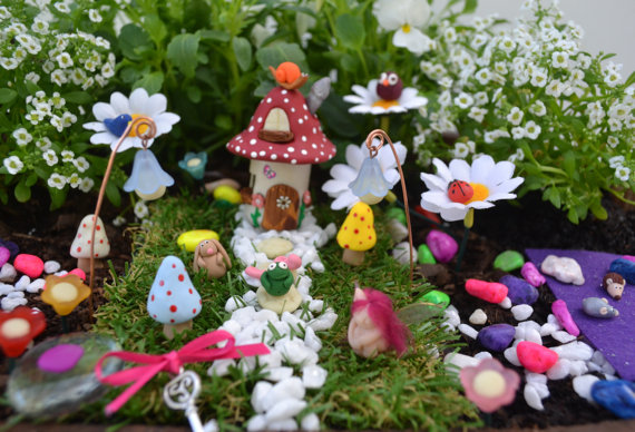 Delightful Finlee And Me U2013 Fairy Garden Kits U2013 Red House Fairy Garden Kit