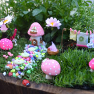 Finlee and Me – Fairy Garden Kits – Pink Washing Day Fairy Garden Kit
