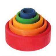 Grimms Wooden Toys - Stacking Bowls