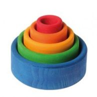 Grimm's Wooden Toys Stacking Bowls