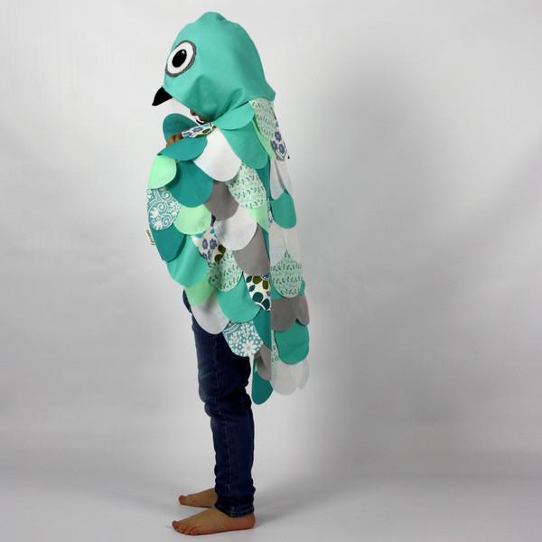 Kids Costumes Aqua Owl Dress Up Costume