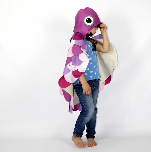 Kids Costumes Purple Owl Dress Up Costume