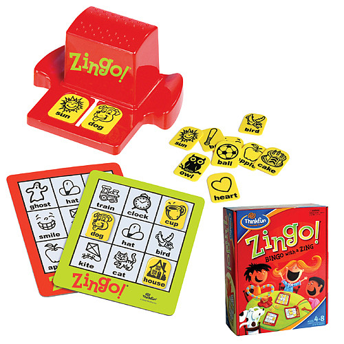 Thinkfun Games for Kids- Zingo! Bingo Game