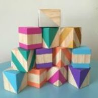 Wooden Toys Basic Building Blocks Collection