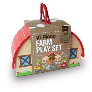 Wooden Toys Farm Playset