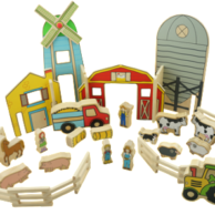 Wooden Toys The Happy Architects Farm