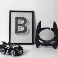Finlee and Me Kids Piggybanks Batman