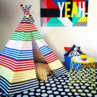 Finlee and Me Kids Teepees New Stripes Teepee