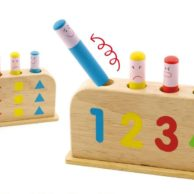 Finlee and Me Kids Wooden Toys Pop Up Toy