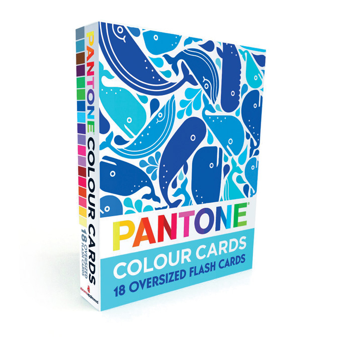 Flash Card Sets Pantone Colour Cards