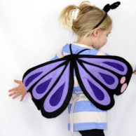 Kids Costumes Butterfly Costume Purple and Pink
