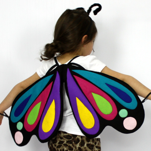 Kids Costumes Butterfly Costume Rainbow