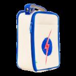 Apple and Mint Kids Lunchboxes Reusable Lunch Bag Lightning Bolt Deep Blue
