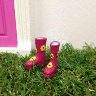 Fairy Doors Gum Boots Pink