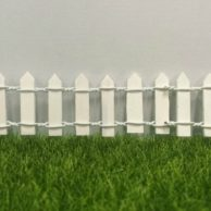 Finlee and Me Fairy Doors Accessories White Fence