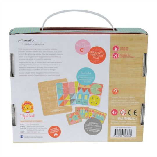 Tiger Tribe- Wooden Toys- Mini Patternation Pattern Making Board