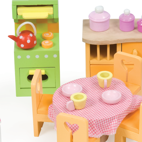Awesome Le Toy Van  Dollhouse Furniture  Deluxe Furniture Set