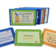 Lunchbox Love ®- Kids Lunch Boxes Cards- Volumes 1-4