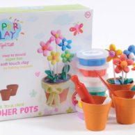 Tiger Tribe- Super Clay- Flower Pots