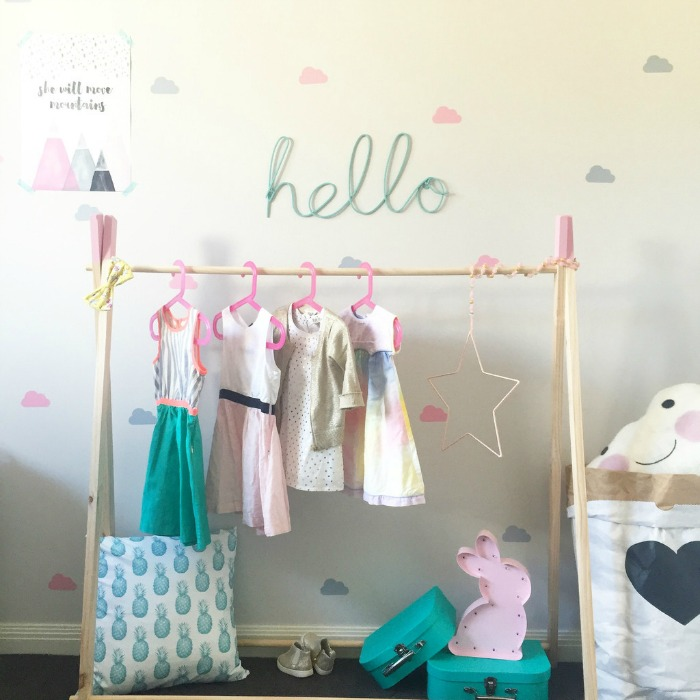 Kids clothing rack cosmecol Kids coat rack