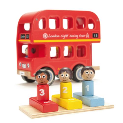 Indigo Jamm- Kids Wooden Toys – Bernie's Number Bus