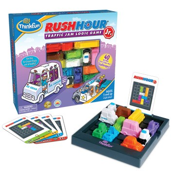 ThinkFun - Games for Kids – Rush Hour Jr. Game