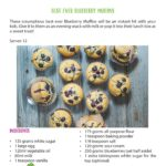Healthy Snack Ideas for Kids Blueberry Muffins