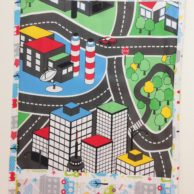 Finlee and Me – Kids Travel Toys – Drawing Sets Car Mats CITY MAIN