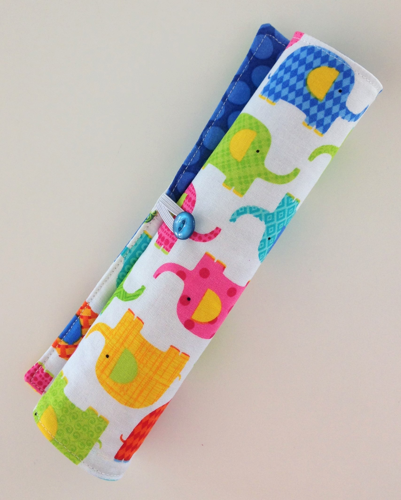 Travel Toys for Toddlers Pencil Rolls