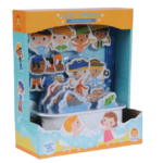 Tiger Tribe- Bath Tub Toys – Once Upon a Pirate Bath Stories