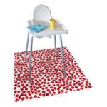 Messy Mat-High Chair Splash Mat Ladybird1