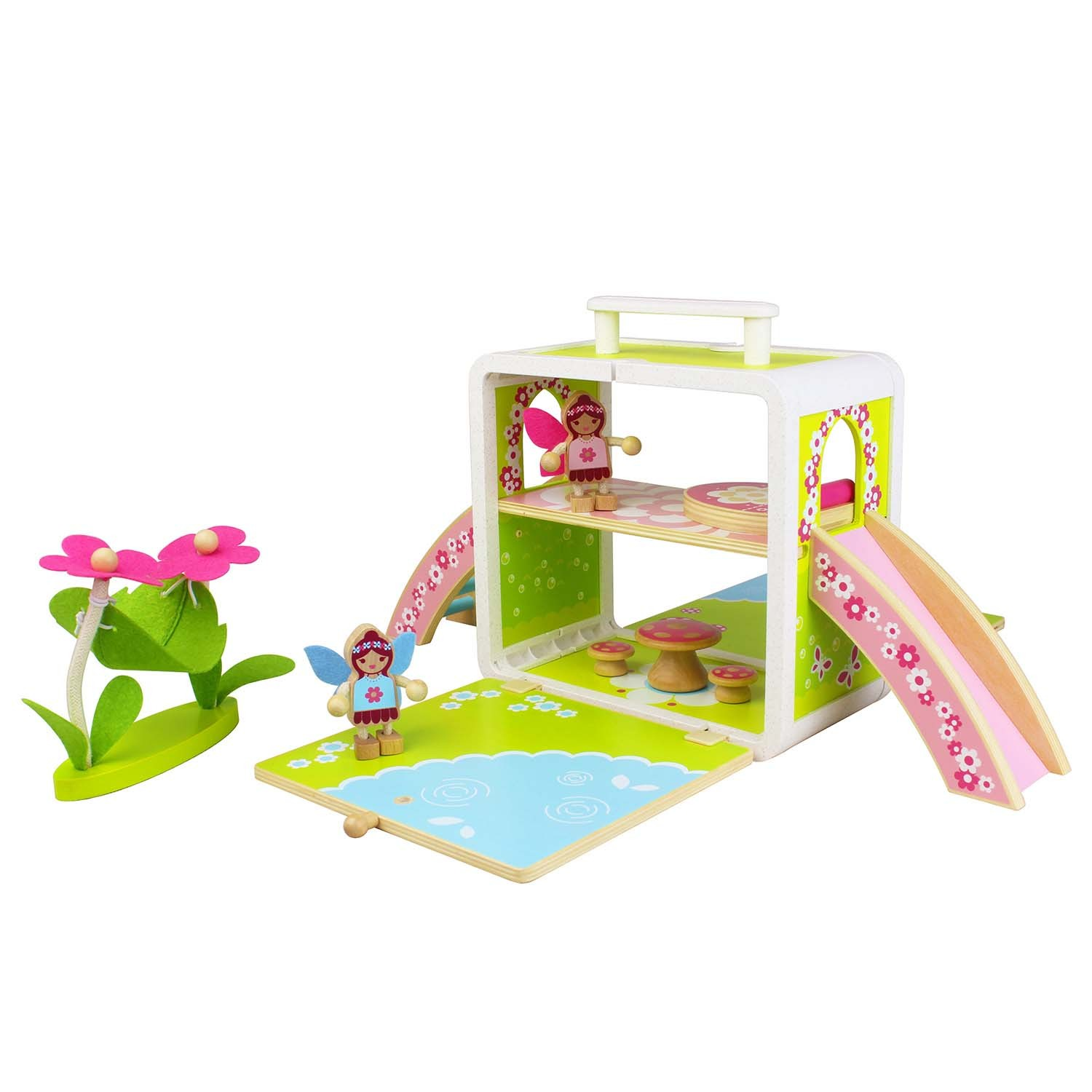 Tiger Tribe – Wooden Toys – Boxsets for Kids {Fairy House}