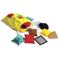 Finlee and Me – Sensory Toys – Teachable Touchables Texture Squares
