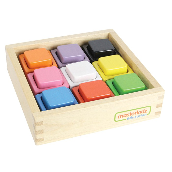 Masterkidz Education – Wooden Toys – Colour Matching Set Square