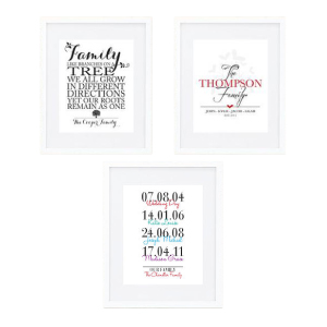 Personalised Family Prints