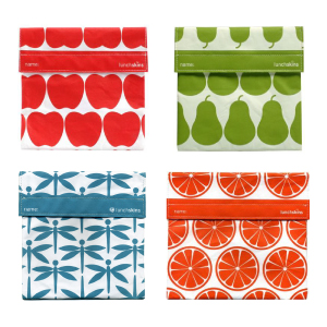 Reusable Food Bags for Sandwiches and Snacks