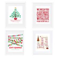 Christmas Wall Prints