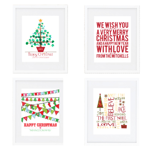 Christmas Wall Prints