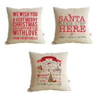 Personalised Christmas Cushions