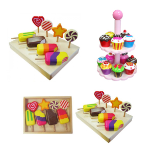 Wooden Play Food for Kids