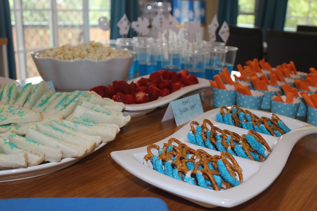 Frozen birthday party food ideas Finlee and Me