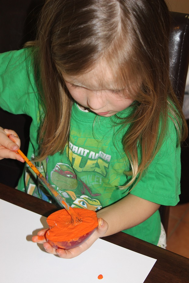 How to make homemade stamps for kids with Finlee and Me
