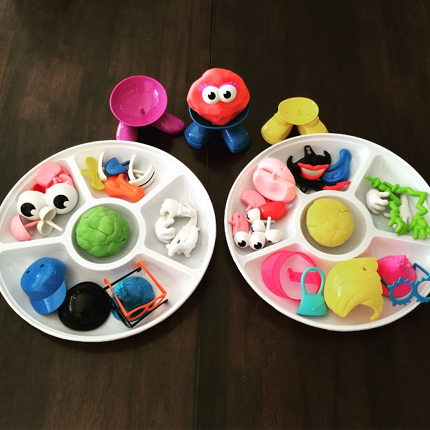 Materials needed for playdough activities Finlee and Me